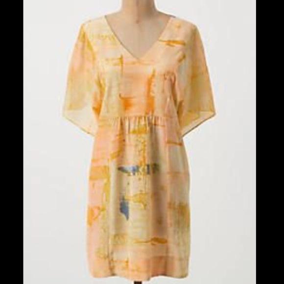 d7411ef2fa6 Anthropologie Dresses & Skirts - Anthropologie Maeve silk tunic dress
